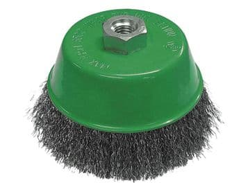 Wire Cup Brush 100mm M14x2, 0.30mm Stainless Steel Wire